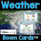 Weather Task Cards - Digital Boom Cards™
