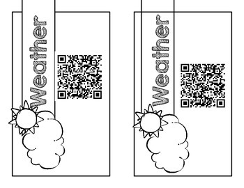 Weather Task Cards (QR Codes Included!)