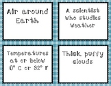 Weather Task Cards Using Vocabulary (Utah Core 4th Grade)