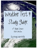 Weather Test and Study Guide - 4th Grade Science