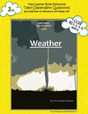 Weather: Text-Dependent Questions and Response to Literature Writing Assignment