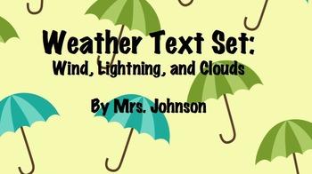 Weather Text Set