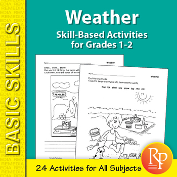 Weather: Thematic Skill-Based Activities for Grades 1-2