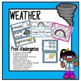 Weather Thematic Unit for PreK, Kindergarten, and Homeschool