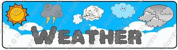 Weather Theme Banner
