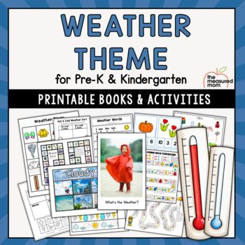 Weather Theme for Preschool & Kindergarten