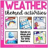 Weather Centers & Activities for PreK