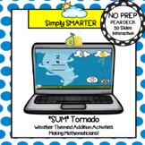 Weather Themed Addition Pear Deck Activities