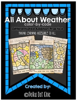 Weather-Themed Addition Practice