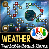 Weather Themed Board Game - Editable Cards