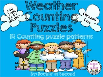 Weather Themed Counting Puzzles