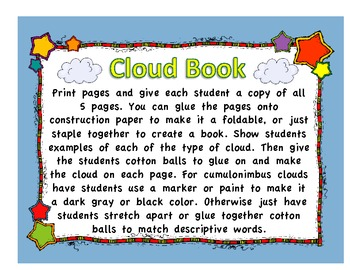 Weather Themed Emergent Readers