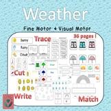 Weather Themed Fine Motor & Visual Motor Fun Pack