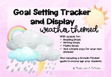 Weather Themed Goal Setting and Tracking Display