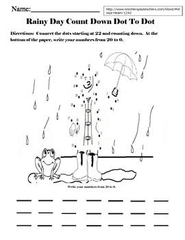Weather Themed Math and Word Work Activities
