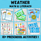 Weather Themed Preschool Mini Unit Activities