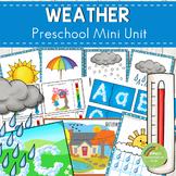Weather Themed Preschool Mini Unit Activities