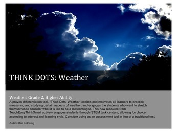 Weather Think Dots- High Ability