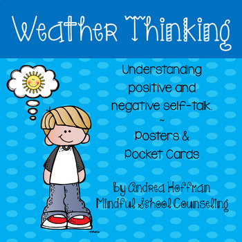 Self-Talk ~ Calming Strategies ~ Sunny Cloudy Rainbow Weather Thinking