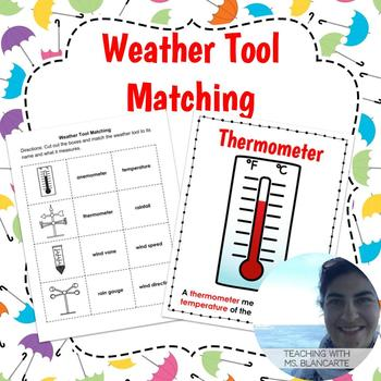 Weather Tool Matching & Posters