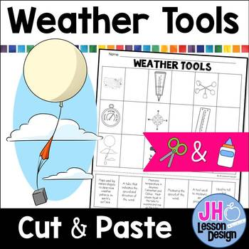 Weather Tools: Cut and Paste Matching Activity