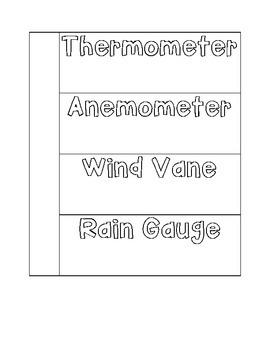 Weather Tools Flip Book