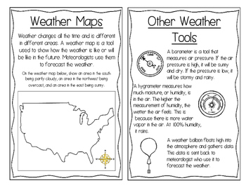 Weather Tools Interactive Book