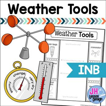 Weather Tools Interactive Notebook Foldable