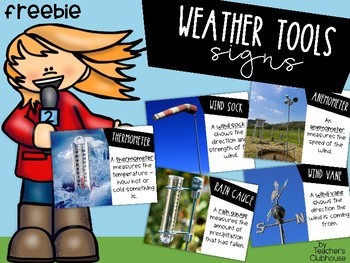 Weather Tools Signs