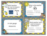 Weather Tools Task Cards
