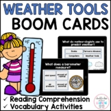 Weather Tools and Instruments BOOM CARDS™ for Distance Learning