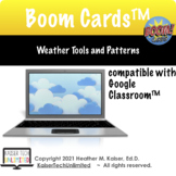 Weather Tools and Patterns Test Prep Boom Cards™