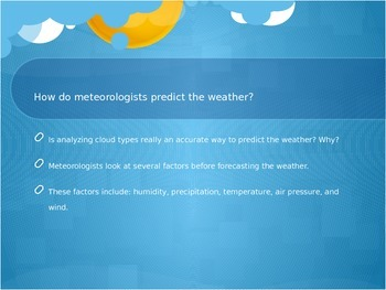 Weather Tools and Predicting Weather