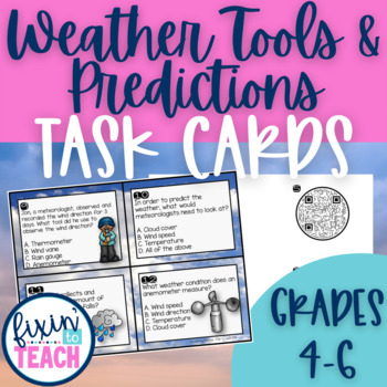 Weather Symbol Cards Teaching Resources Teachers Pay Teachers
