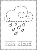 Weather Tracing Or Push Pin Pages
