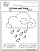 "Weather Tracing Pages ""No Prep"""