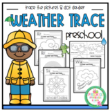"""Weather Tracing Pages """"No Prep"""""""