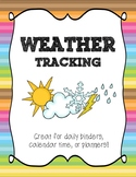 Weather Tracking