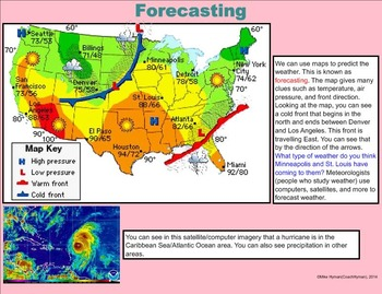 Weather Tracking - A Fourth Grade SMARTBoard Introduction