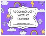 Weather Tracking & Recording Calendar (Cut & Paste)