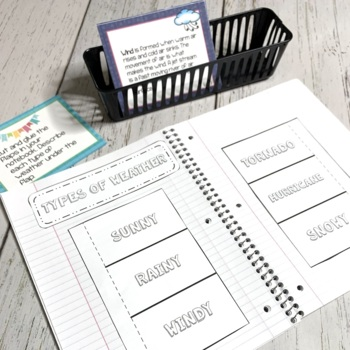 Weather Unit 1 | Science Centers for Elementary Grades