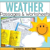 Weather Activities - Digital No Prep Pack With Google Slides