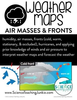 Weather Unit 3 - Weather Maps, Air Masses, and Fronts