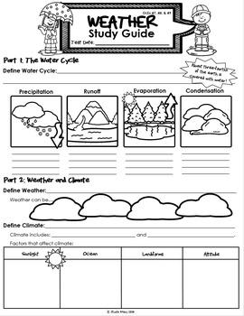 Weather Unit Assessment Bunlde