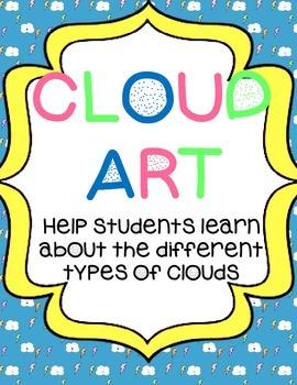 Weather Unit: Cloud Art & Labeling