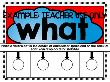 Weather Unit Common Core Literacy Centers - The Storm