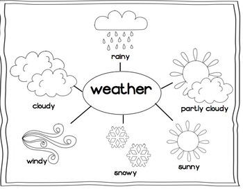 Weather Unit  - For use with the California Treasures Language Arts Program