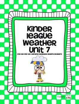 Weather Unit  - For use with the California Treasures Lang