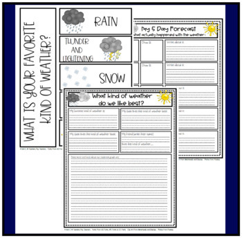 Let's Talk about Weather - A Unit that Integrates Curriculum for Grades 1-3