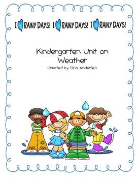Weather Unit-Kindergarten